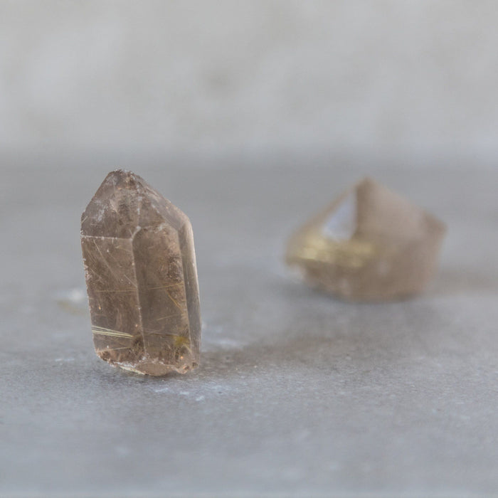 Single Terminated Raw Citrine - House of Intuition
