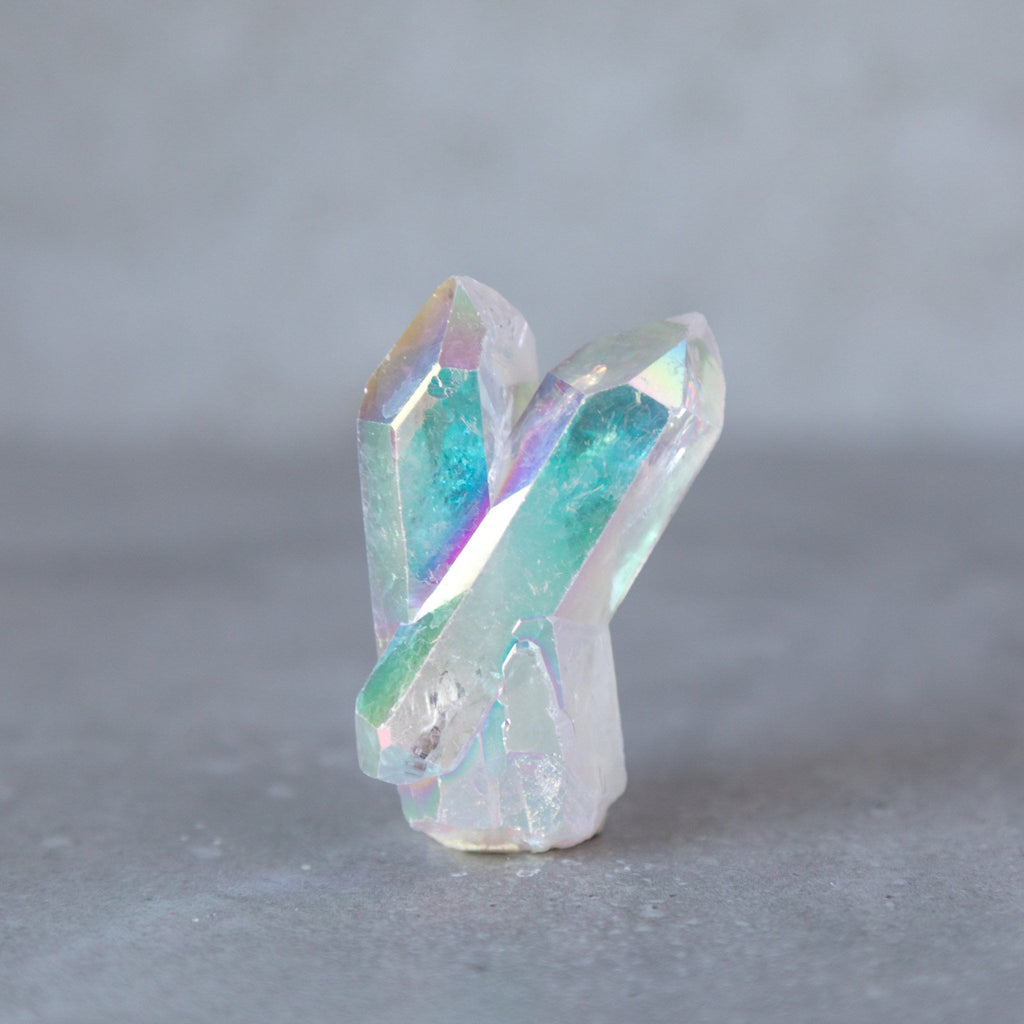 Opal Angel Aura Quartz Raw Point - House of Intuition