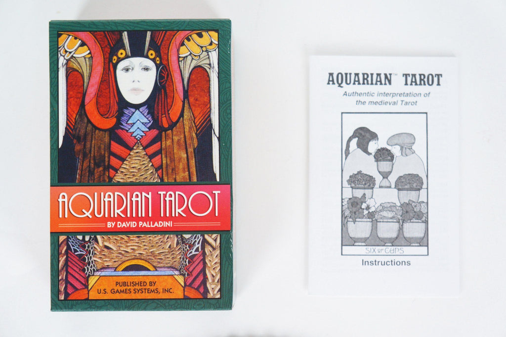 Aquarian Tarot Deck Cards - House of Intuition