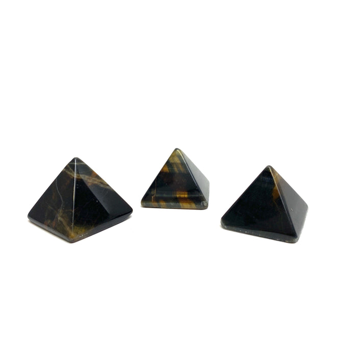 Blue Tiger's Eye Pyramid