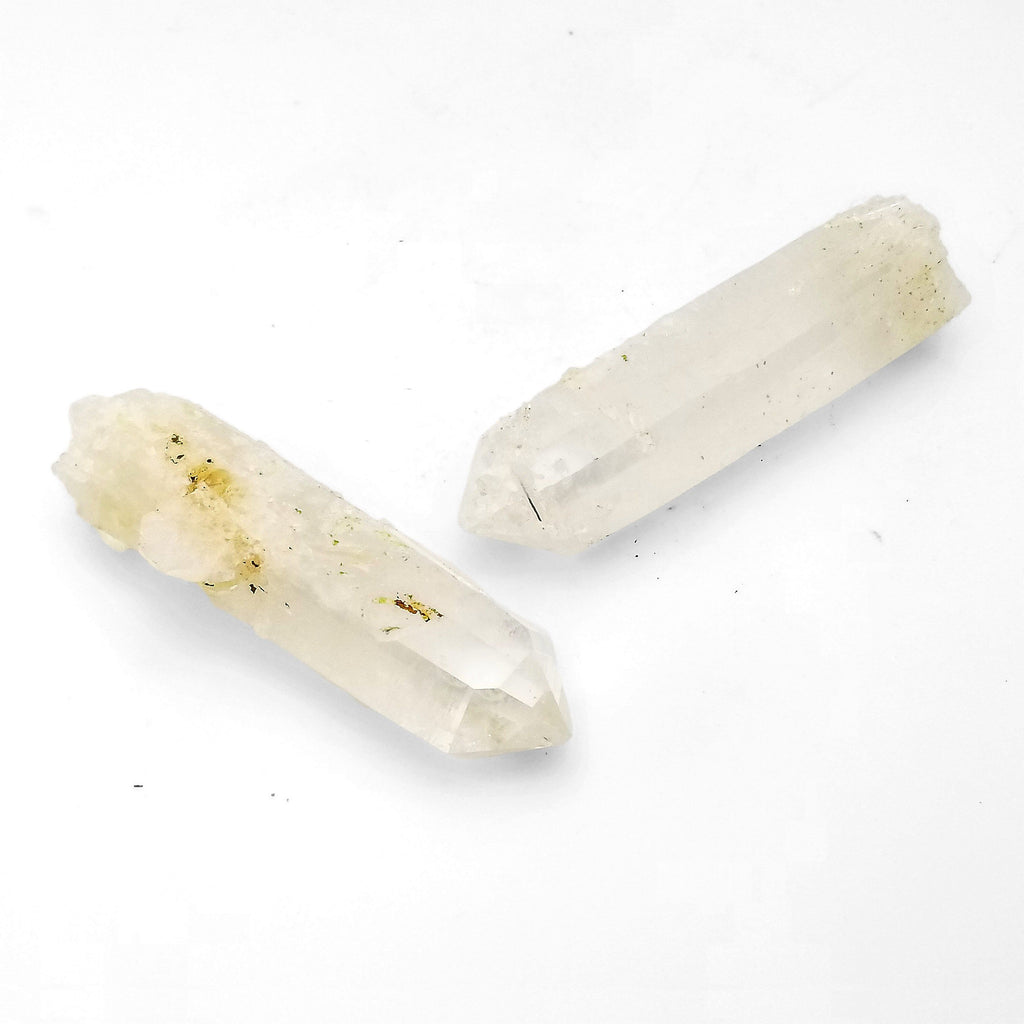 Blue Smoke Clear Quartz Raw Points - House of Intuition