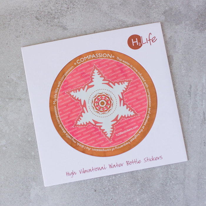 Compassion Sacred Geometry Sticker - House of Intuition