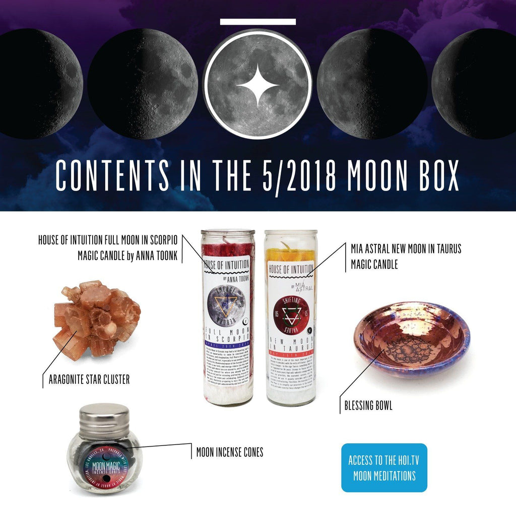 House of Intuition Moon Collection Box (non-subscription) - House of Intuition