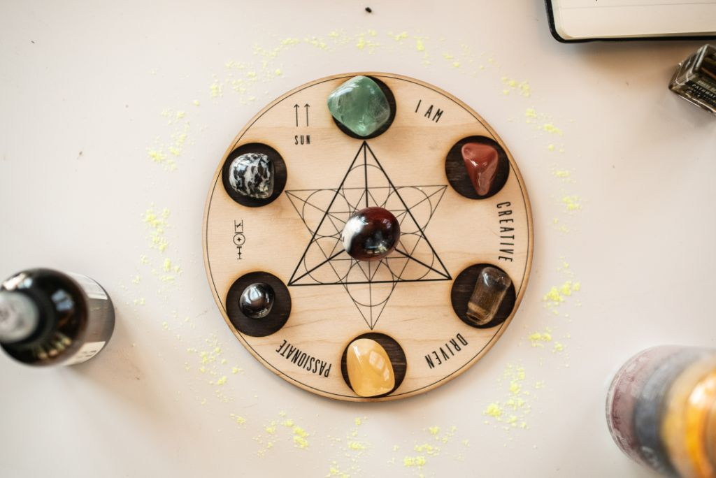 Creativity Crystal Grid