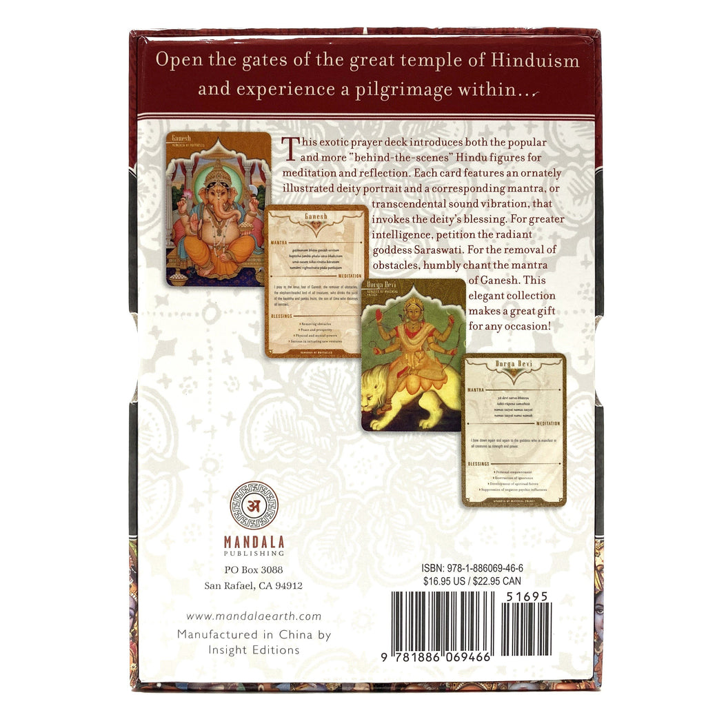 Gods and Goddesses Mandala Wisdom Cards