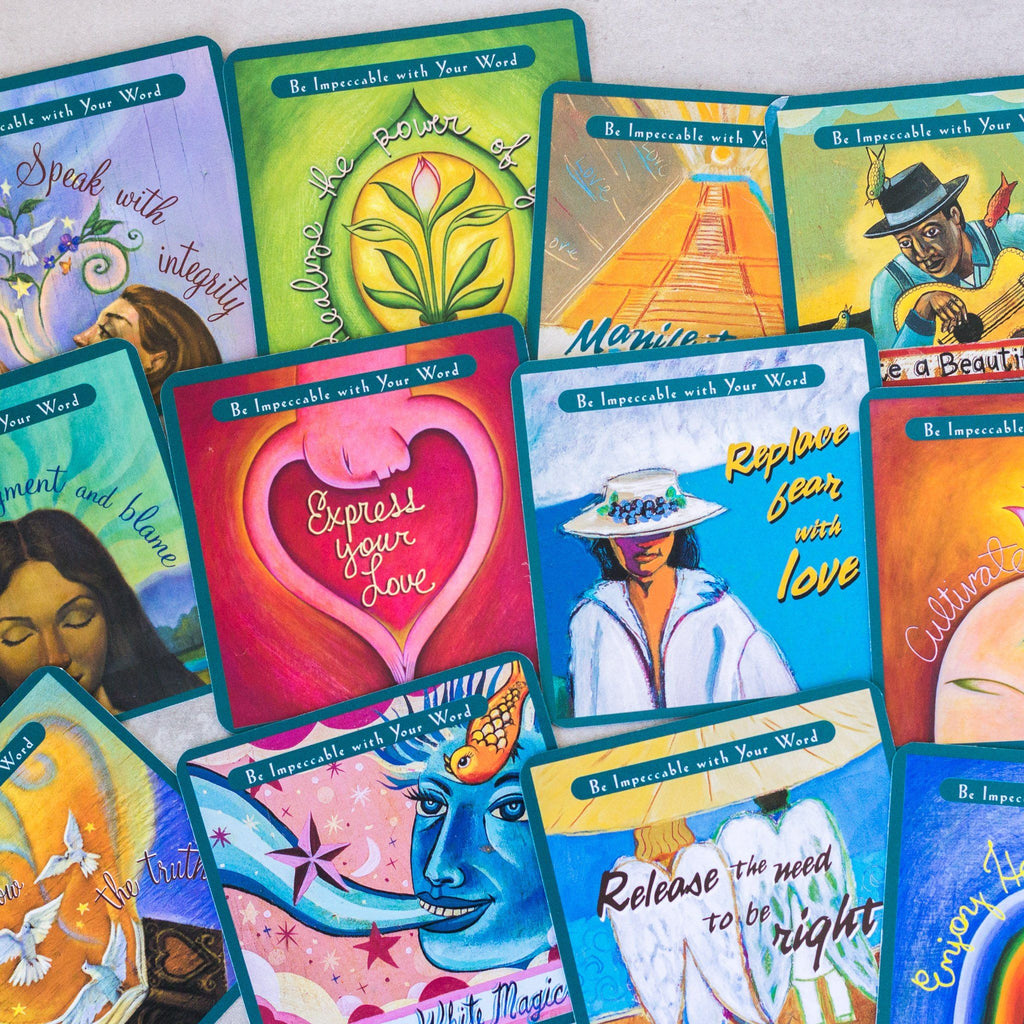 The Four Agreements Card Deck House Of Intuition