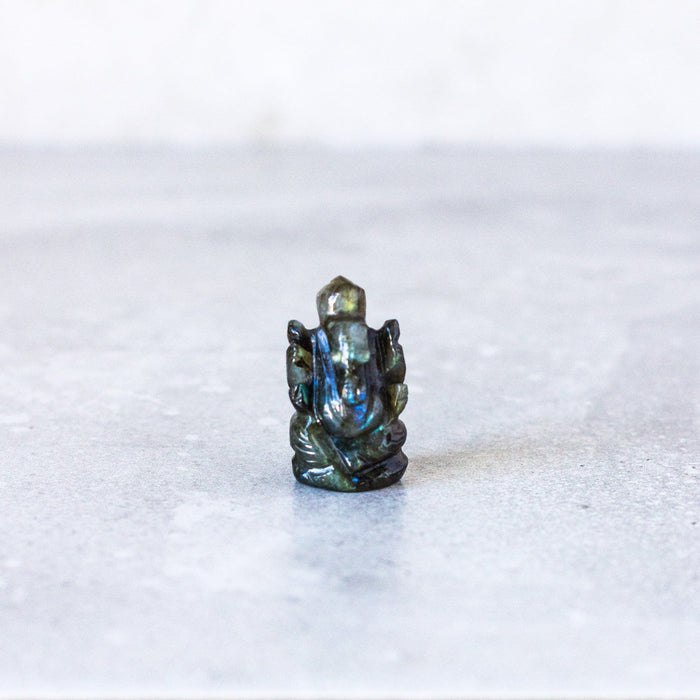 Labradorite Ganesh - House of Intuition