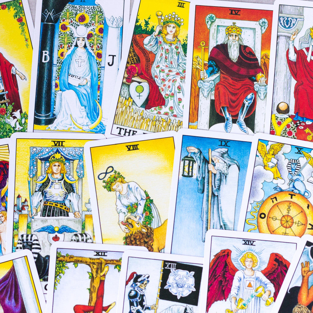 Universal Waite: Tarot Deck and Book Set