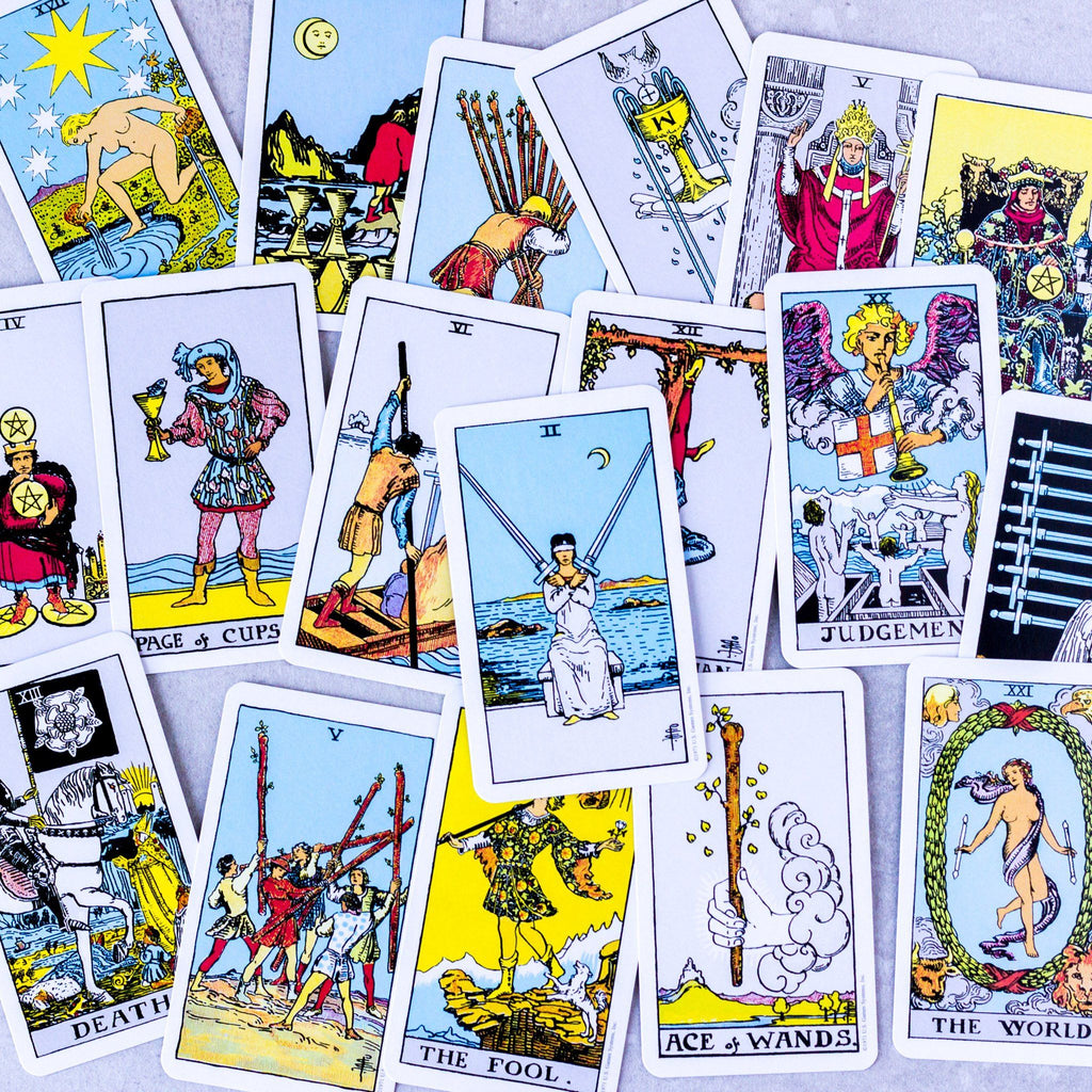 The Rider Tarot Deck Cards - Miniature Edition - House of Intuition