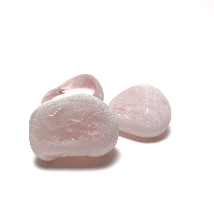 Rose Quartz Window Stone (Seer Stone) - House of Intuition