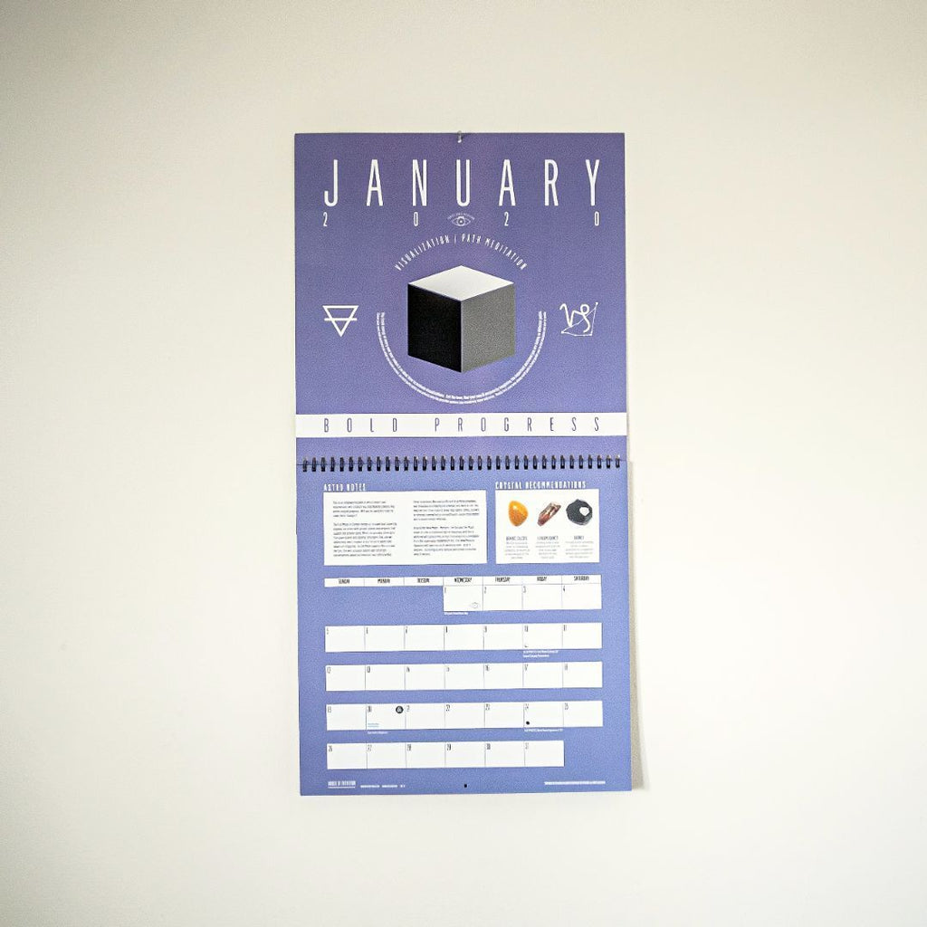 2020 Vision Wall Calendar - House of Intuition