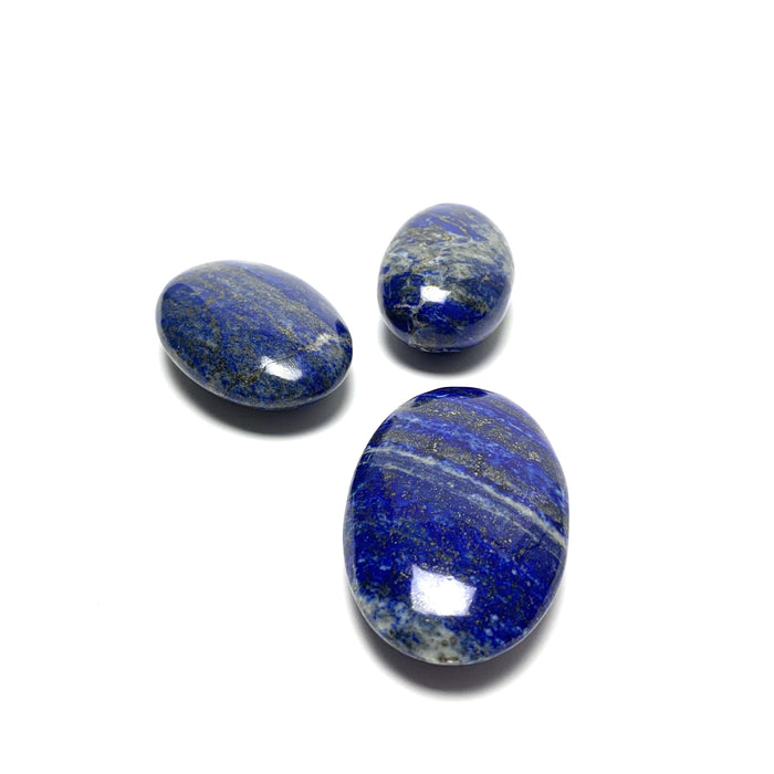 Lapis Lazuli Palm Stone - House of Intuition