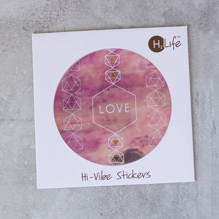 Love Metallic Sticker - House of Intuition