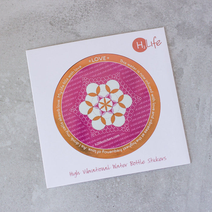 Love Sacred Geometry Sticker