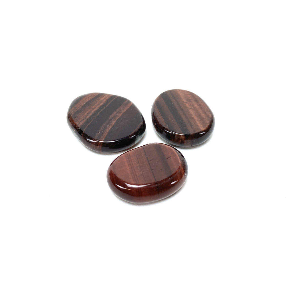 Red Tiger's Eye Medallions