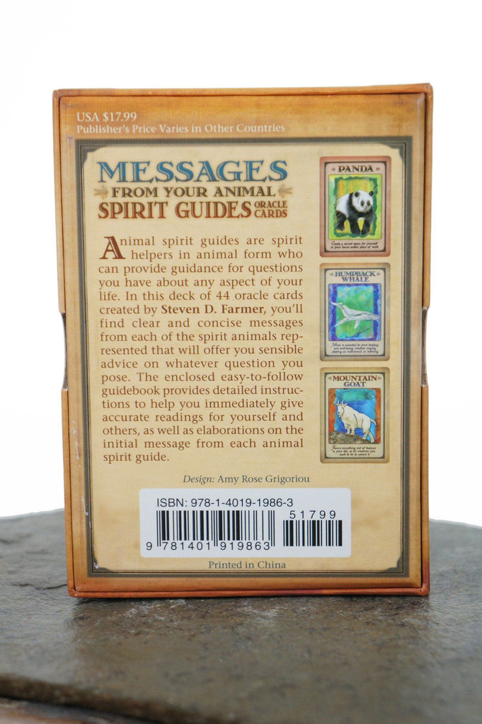Messages from Your Animal Spirit Guides Oracle Cards - House of Intuition