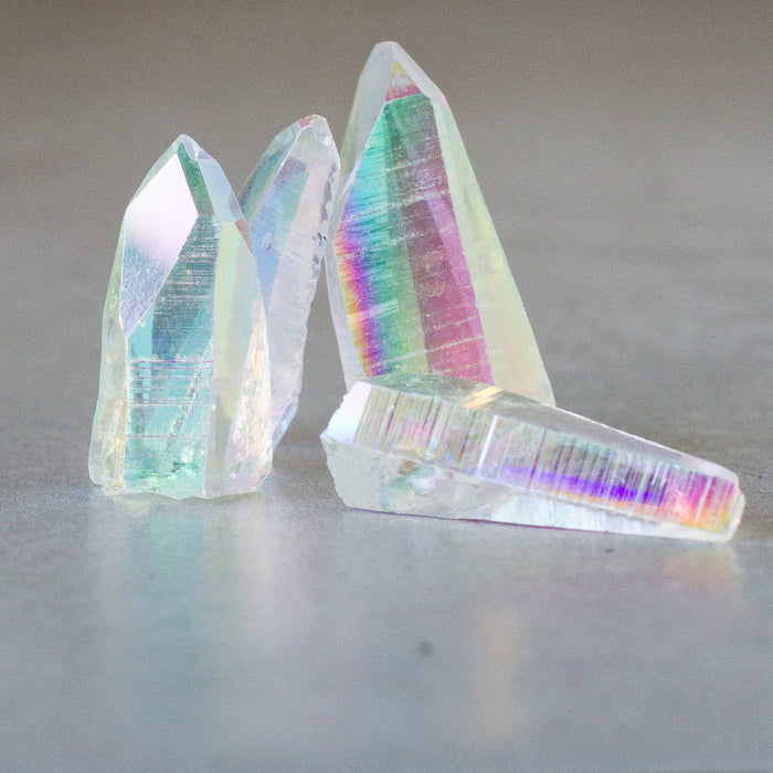 Opal Aura Lemurian Seed Points - House of Intuition