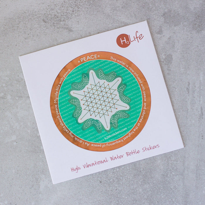 Peace Sacred Geometry Sticker - House of Intuition
