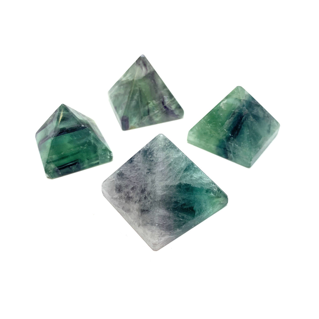 Fluorite Pyramids - House of Intuition