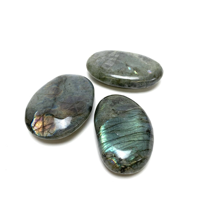 Labradorite Palm Stone - House of Intuition