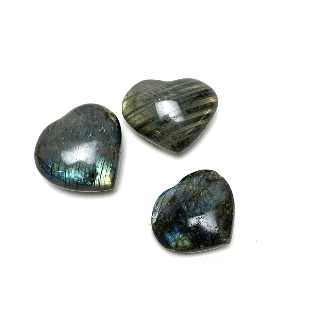 Labradorite Heart - House of Intuition