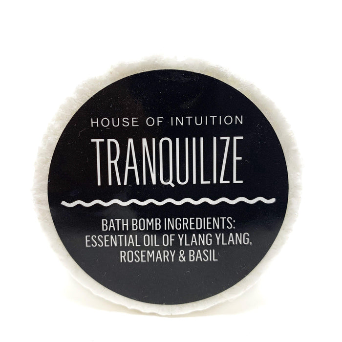 Tranquilize Bath Bomb - House of Intuition