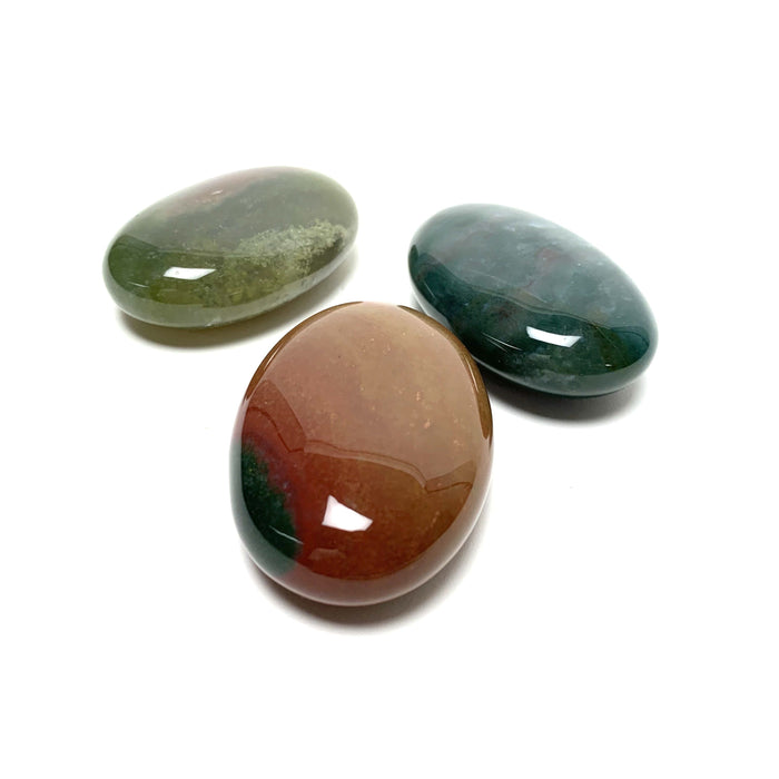 Bloodstone Palm Stone - House of Intuition