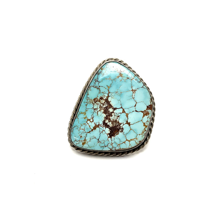 Turquoise Silver Ring - House of Intuition