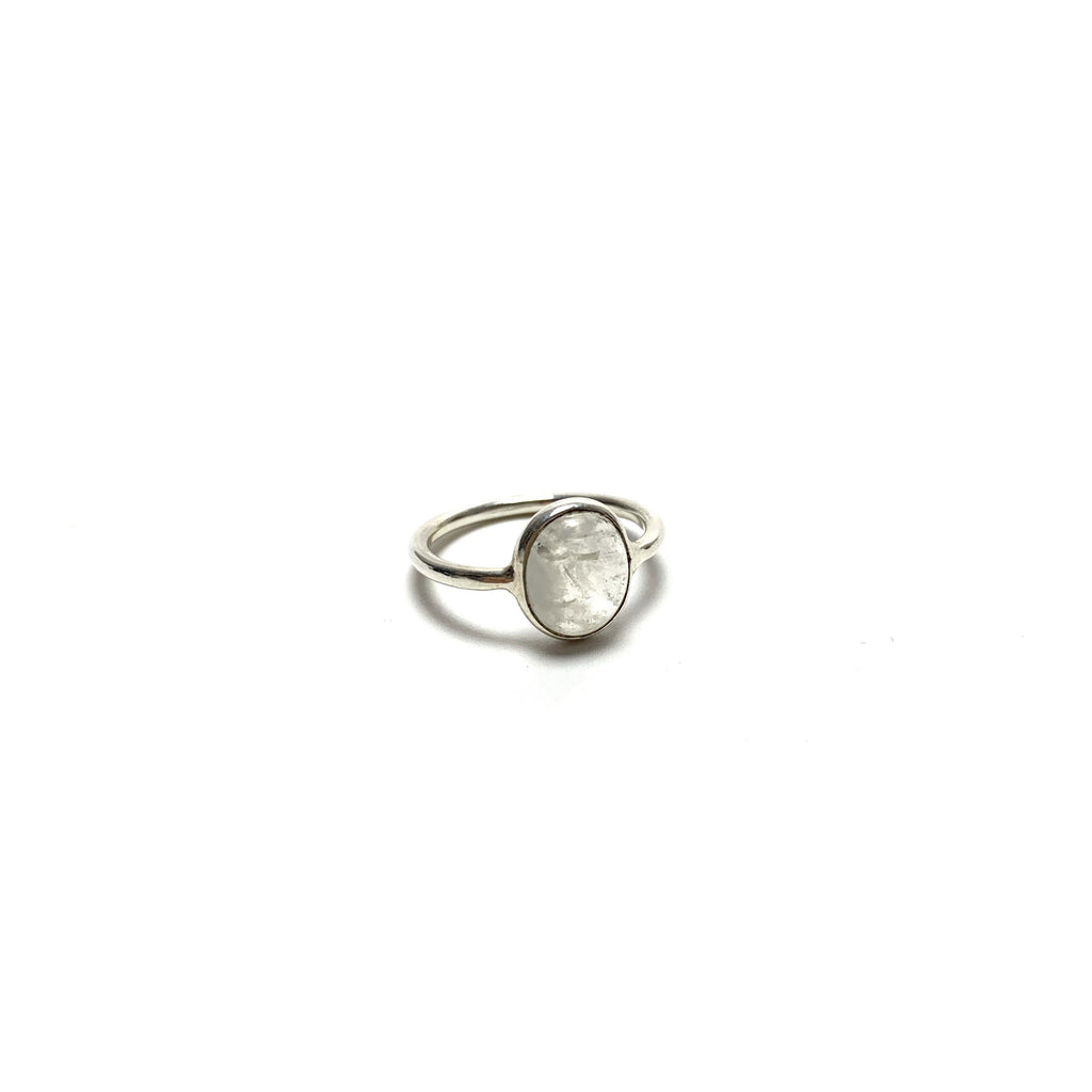 Moonstone Silver Ring - House of Intuition