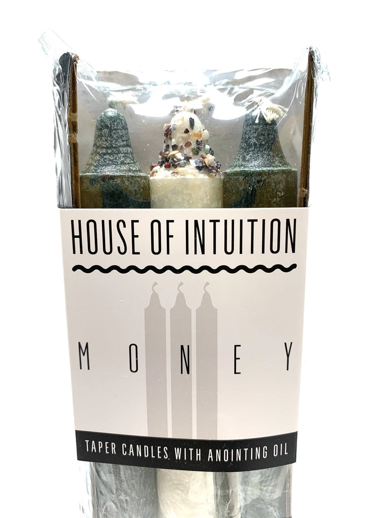 Taper Intention Candle Set - Money - House of Intuition