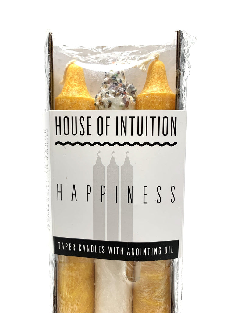 Taper Intention Candle Set - Happiness - House of Intuition