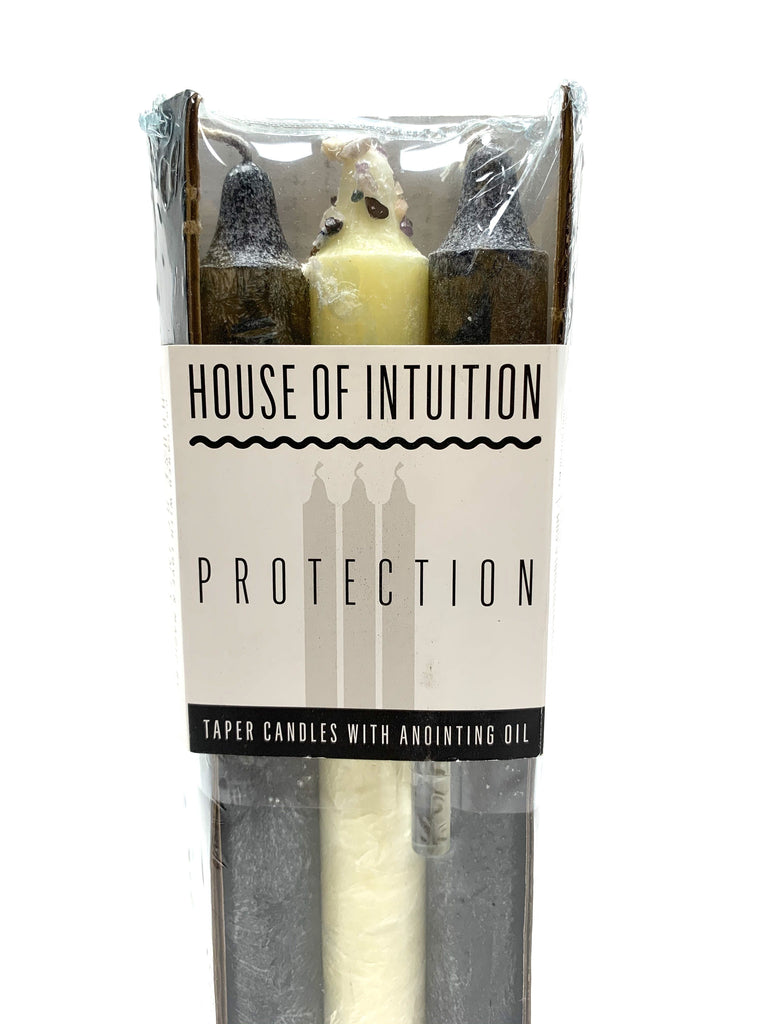 Taper Intention Candle Set - Protection - House of Intuition