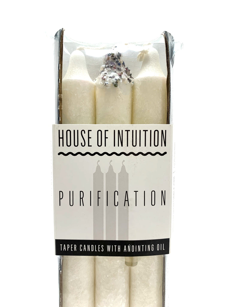 Taper Intention Candle Set - Purification - House of Intuition