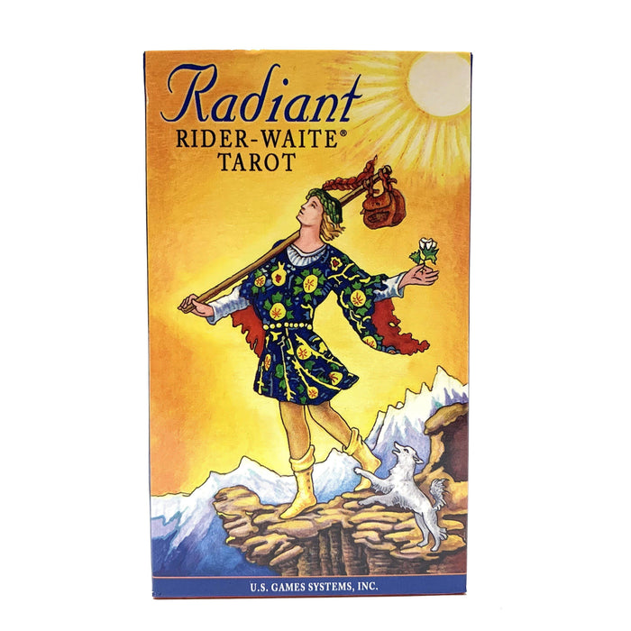 Radiant Rider-Waite Tarot Deck Cards