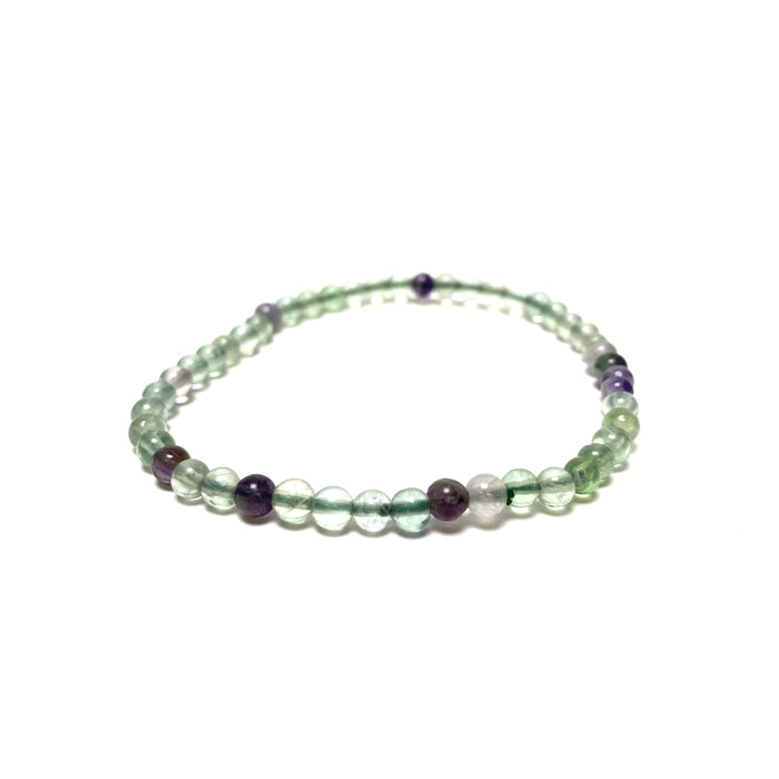 Rainbow Fluorite Power Mini Bracelet