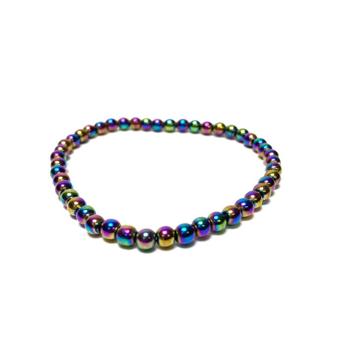 Rainbow Hematite Power Mini Bracelet