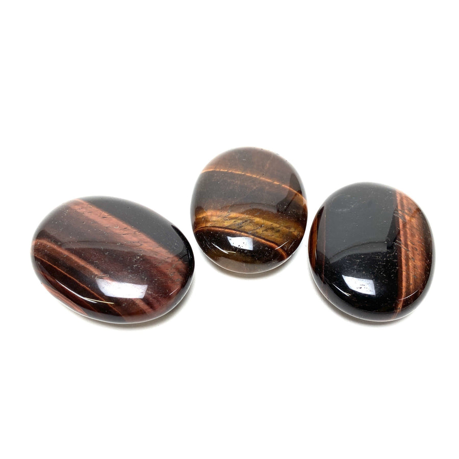 Red Tigers Eye Pillow Stones