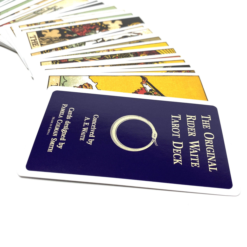 The Original Rider Waite Tarot Deck Pack