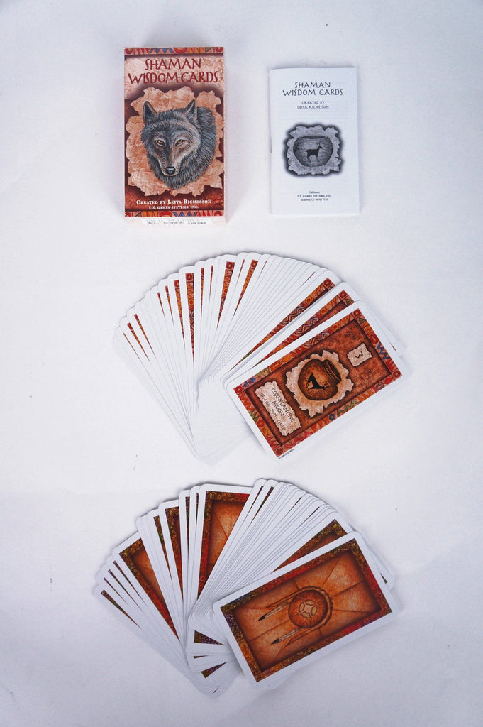 Shaman Wisdom Cards - Tarot Cards - House of Intuition