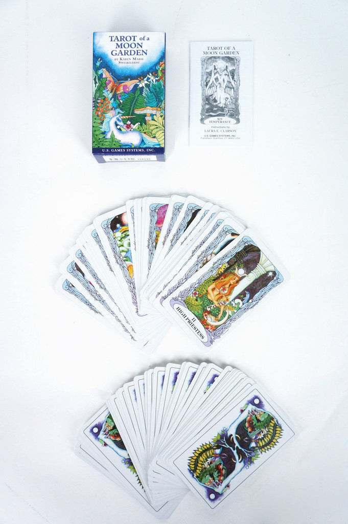 Tarot of the Moon Garden Cards