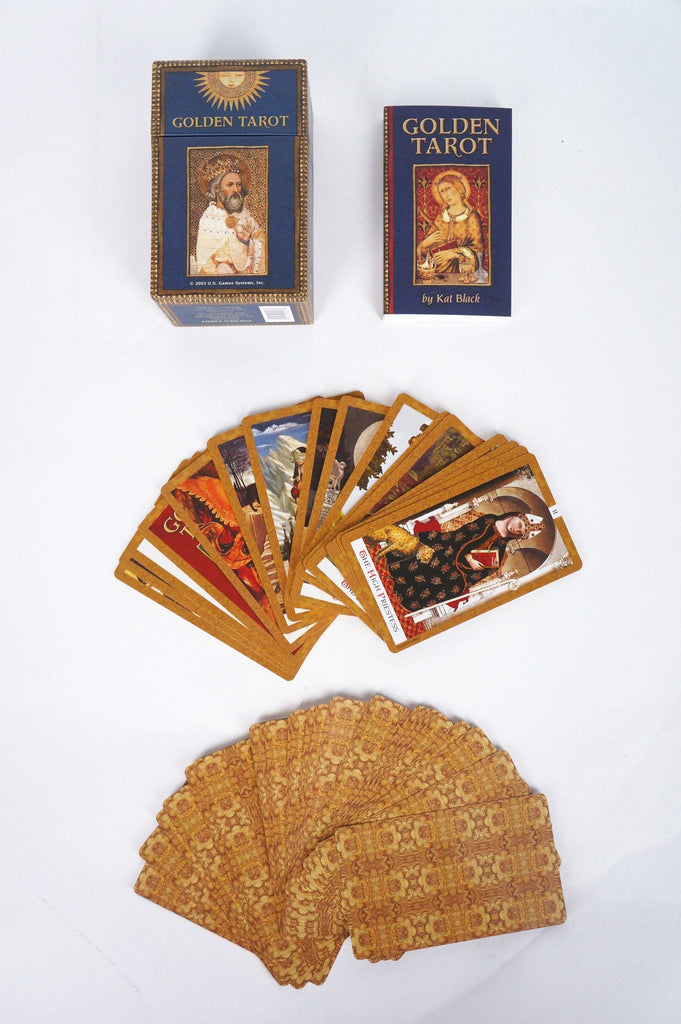 The Golden Tarot Cards - House of Intuition