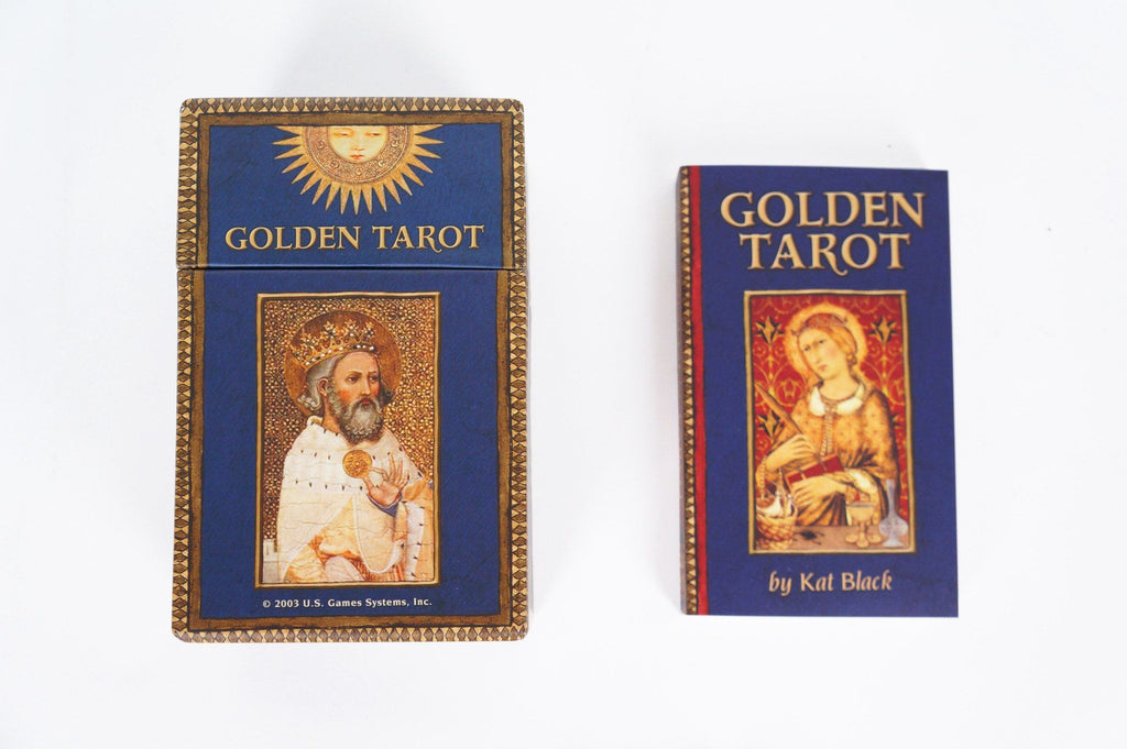 Golden Tarot Deck Cards - House of Intuition