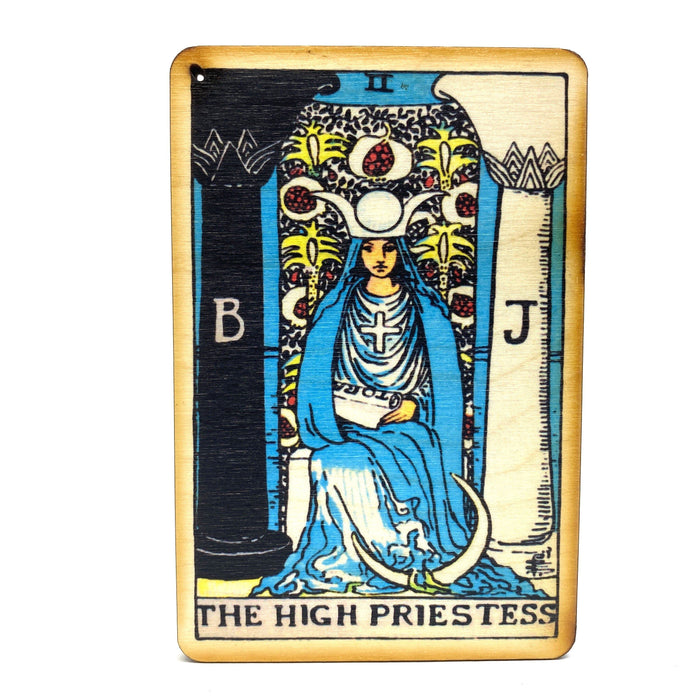 The High Priestess - Tarot Incense Burner