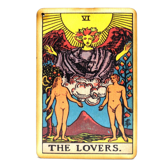The Lovers - Tarot Incense Burner