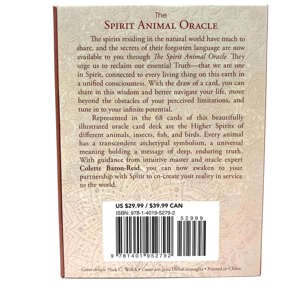 The Spirit Animal Oracle Deck and Guidebook