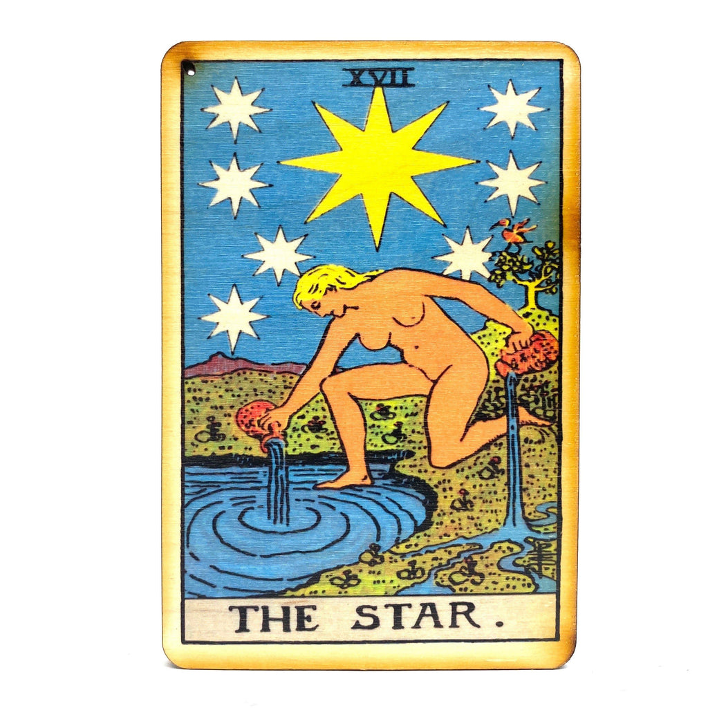 The Star - Tarot Incense Burner – House of Intuition