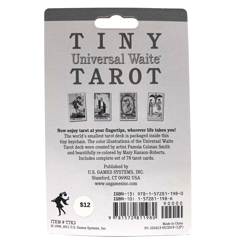 Tiny Universal Waite Tarot Deck Cards
