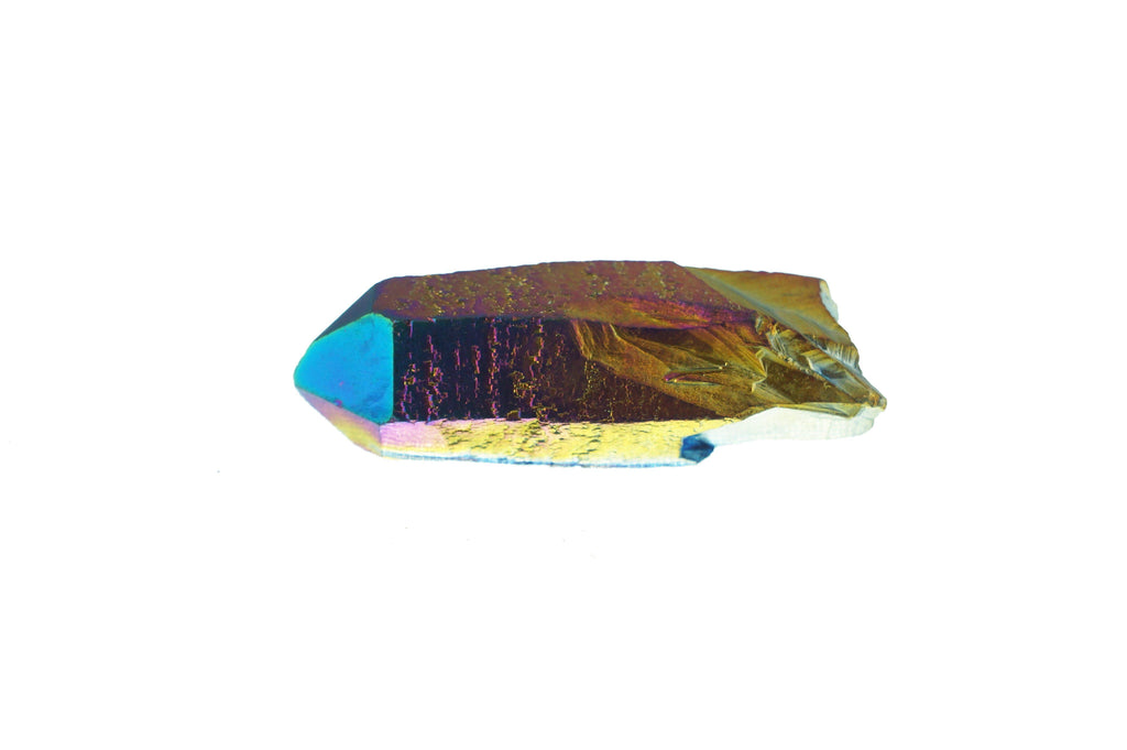 Titanium Aura Quartz Points - House of Intuition
