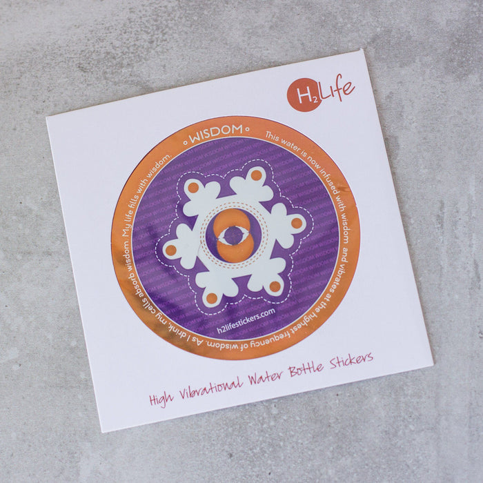Wisdom Sacred Geometry Sticker - House of Intuition