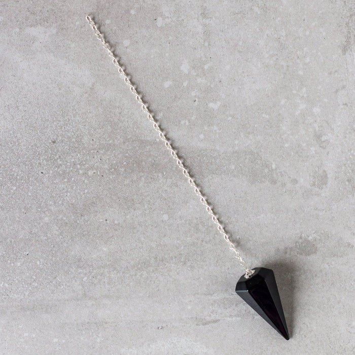 Black Obsidian Pendulum - House of Intuition